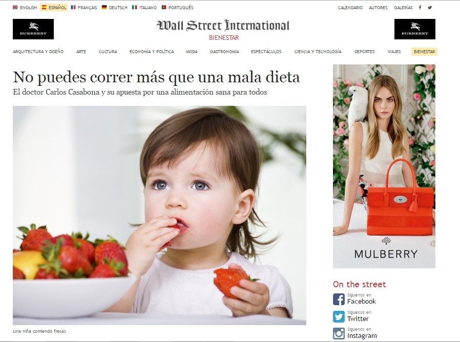 Carlos Casabona Entrevista Wall Street Journal